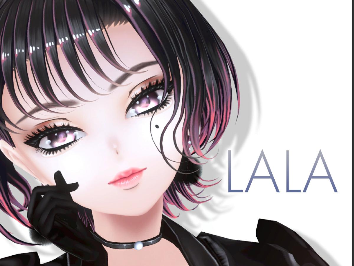 オリジナル3Dキャラモデル≪LALA≫