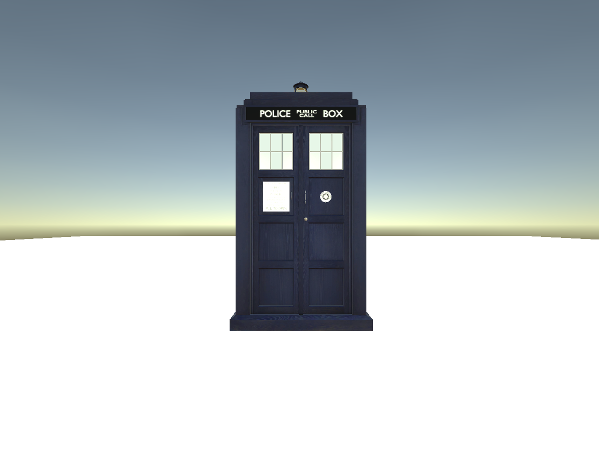 2010|Copper Tardis WIP V2