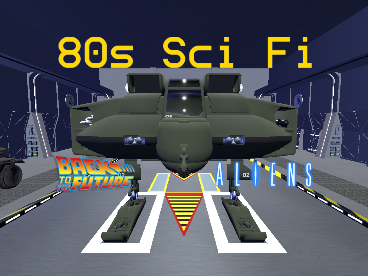 80s Sci Fi v1.66
