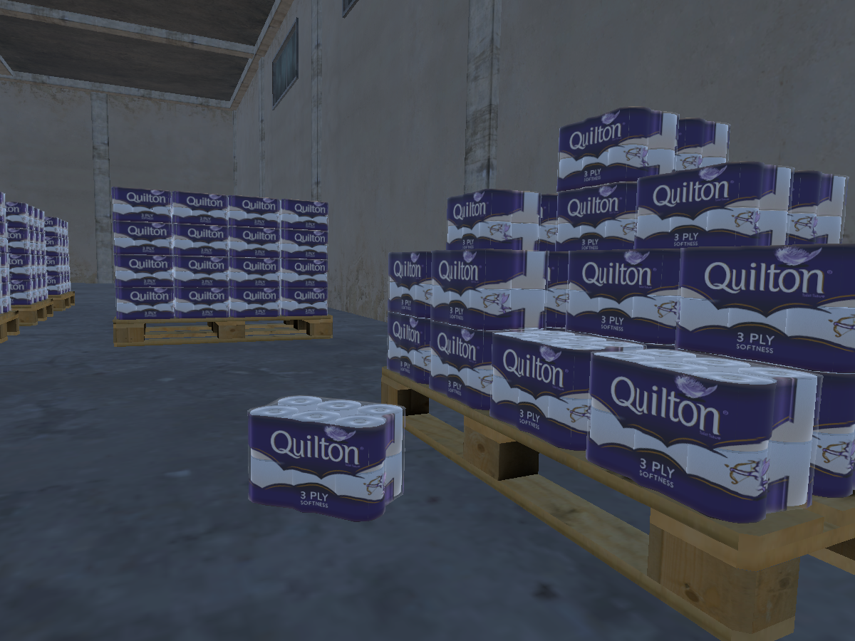 A Lifetime Supply of Toilet Paper