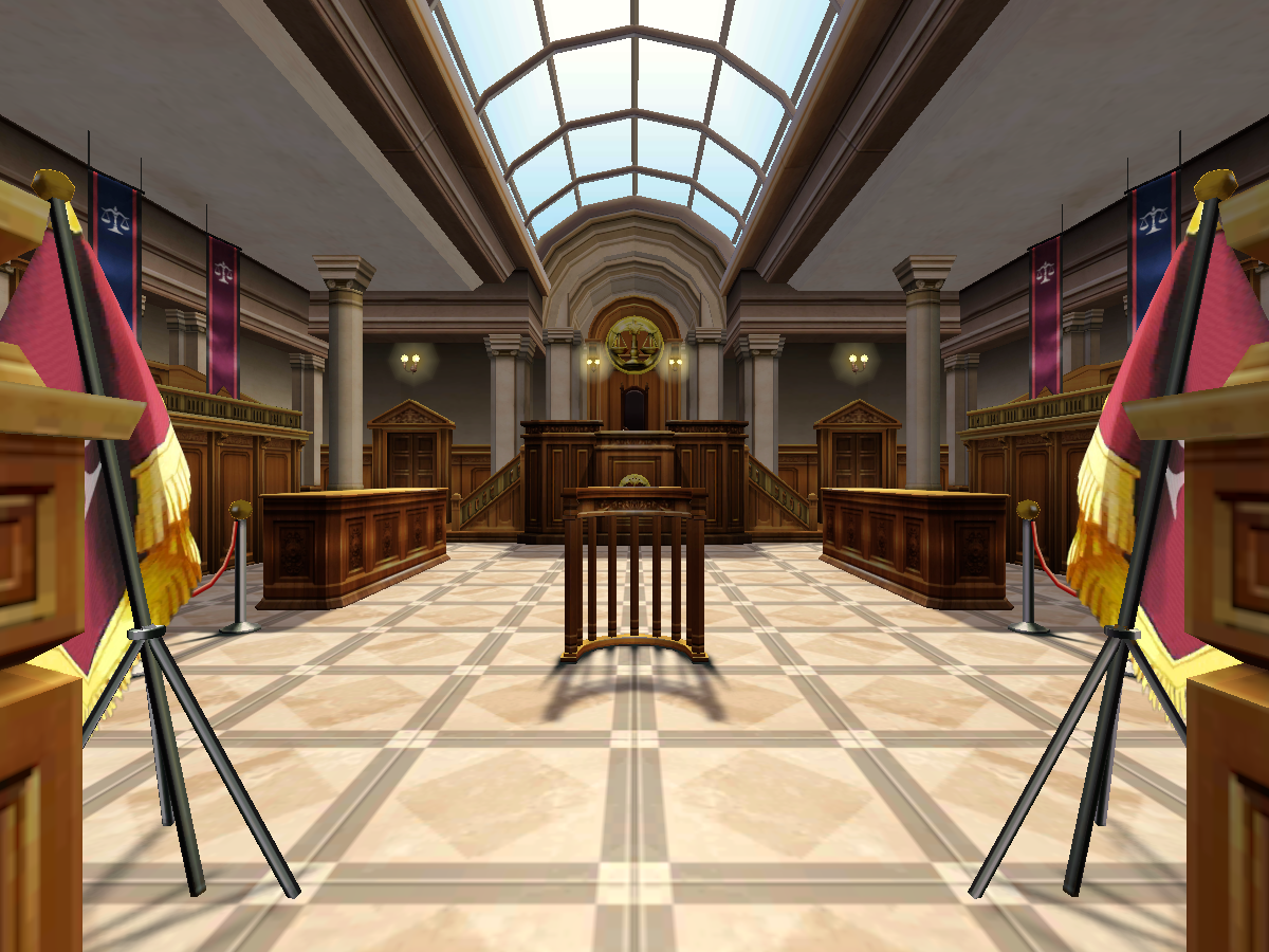 Ace Attorney Courtroom