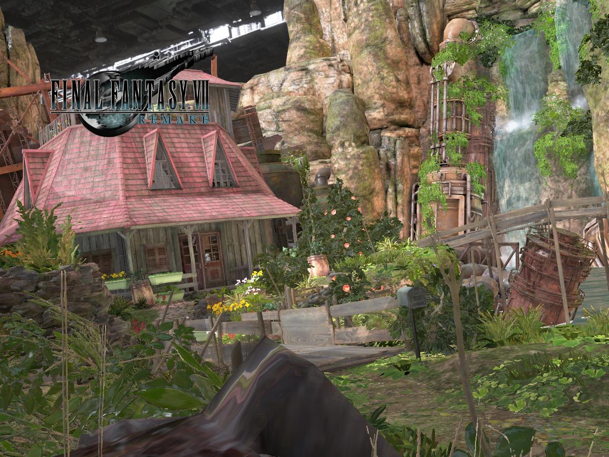 Aerith's House - Final Fantasy VII Remake