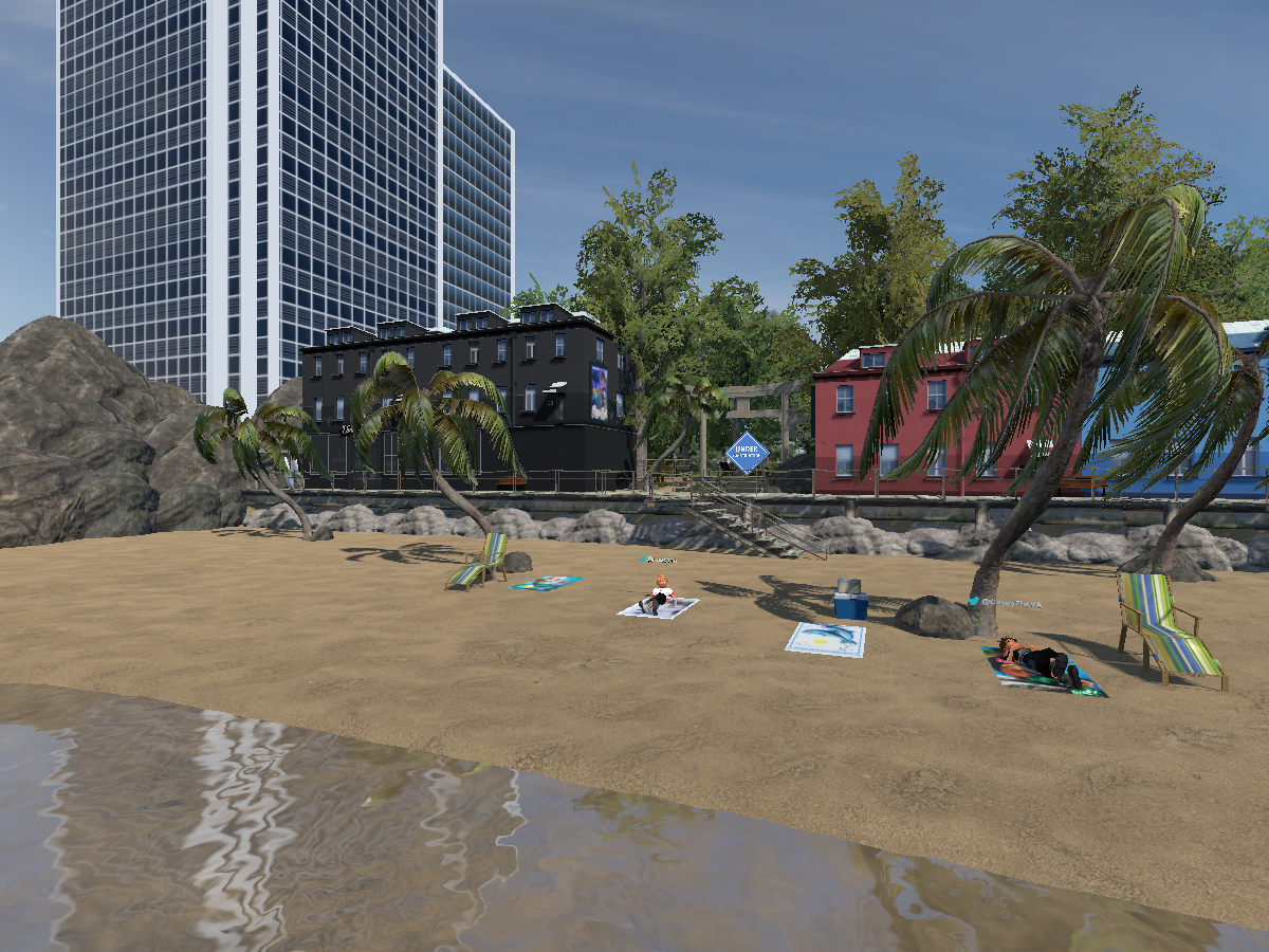 Ash's Beach Boardwalk