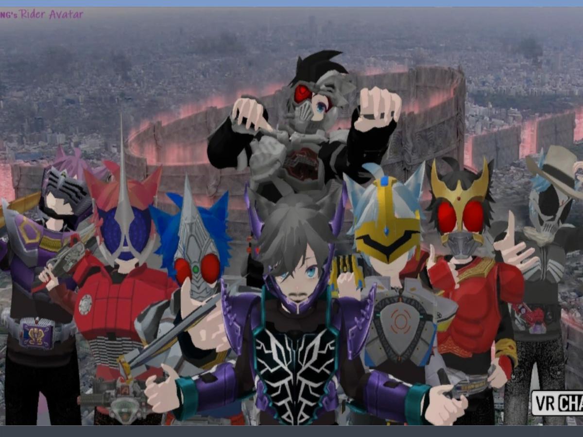 DORONG's Tokusatsu avatar