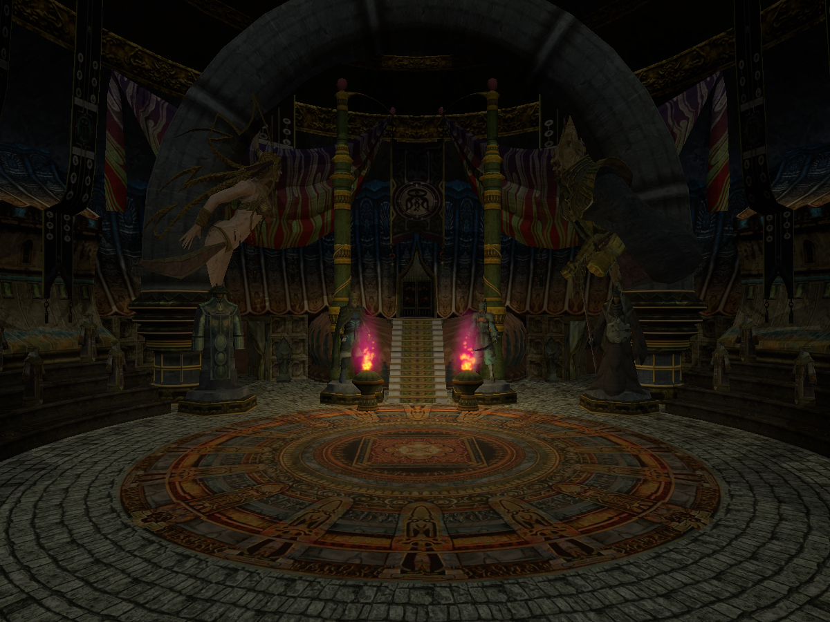 Besaid Temple - Valefor