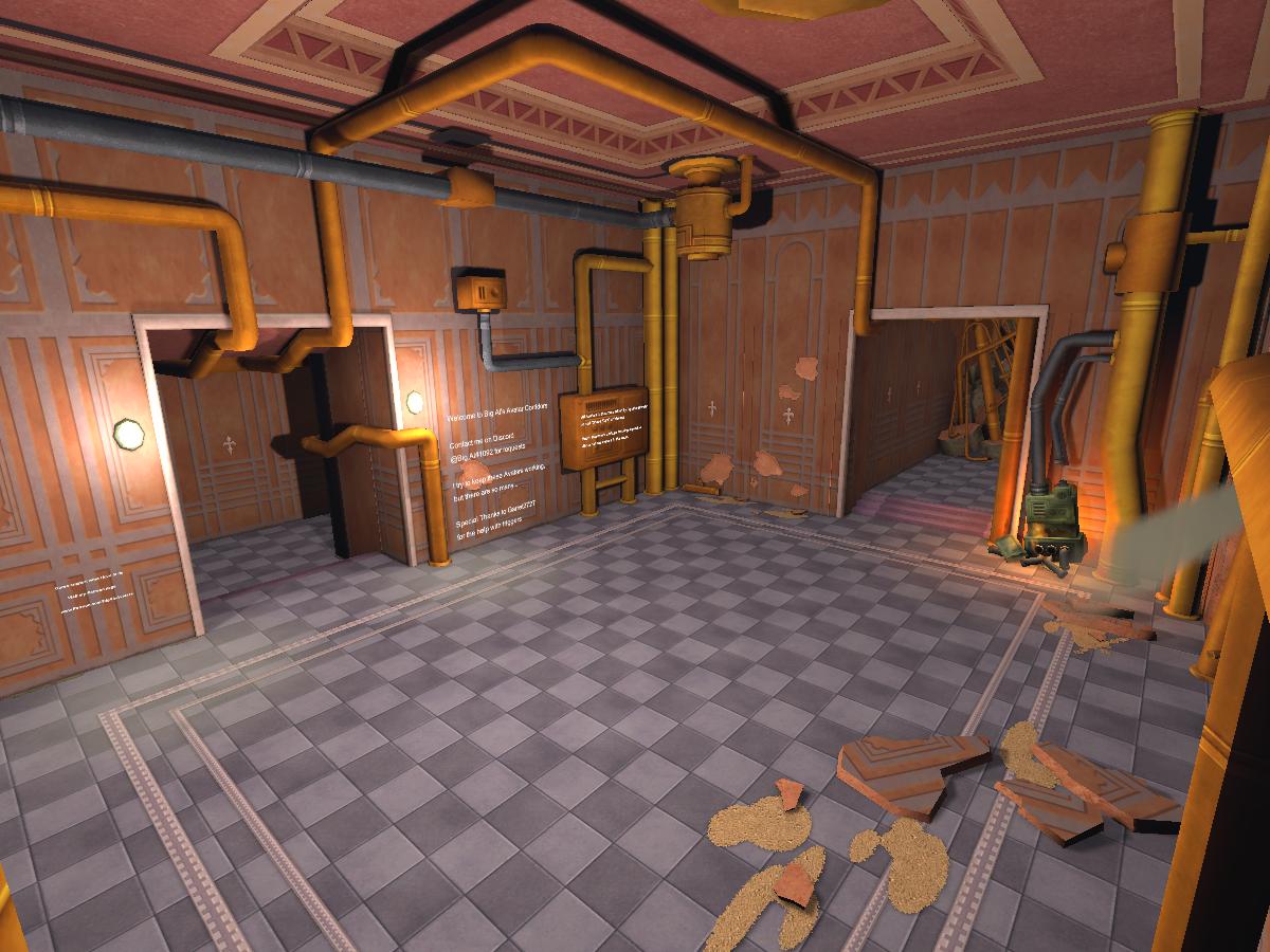 Big Al's Avatar Corridors