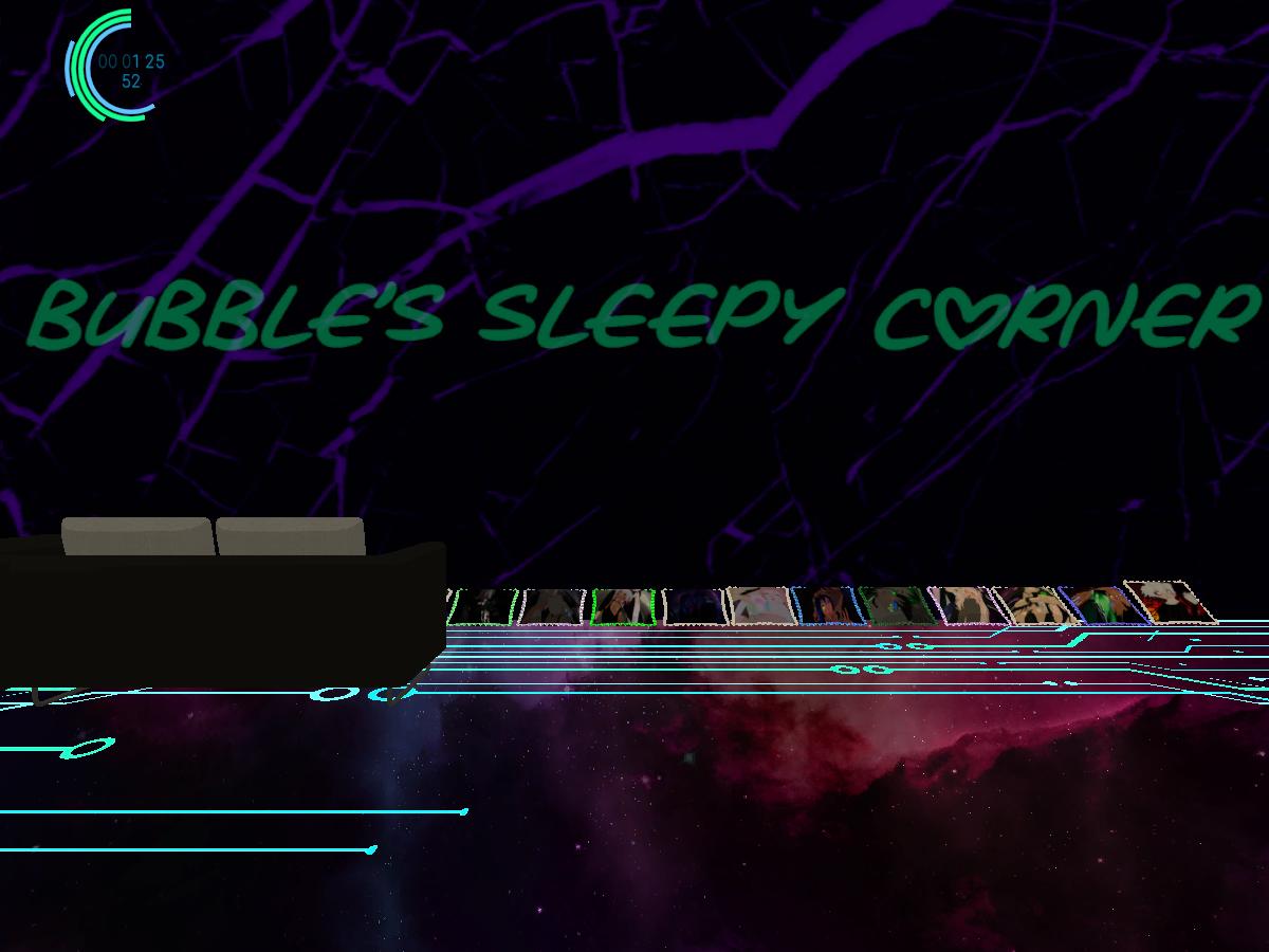 Bubble's Sleepy Corner