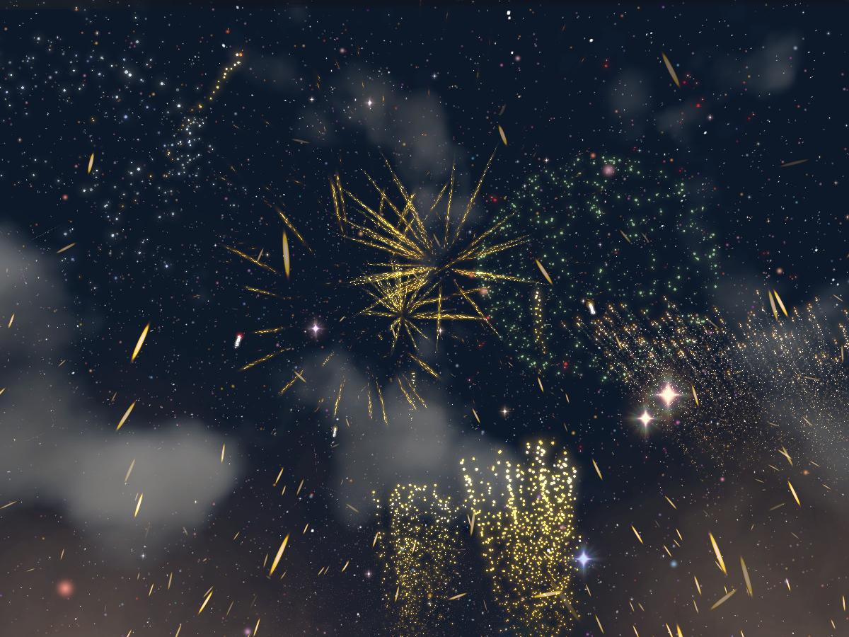 【CN】Fireworks chatroom 萌神社