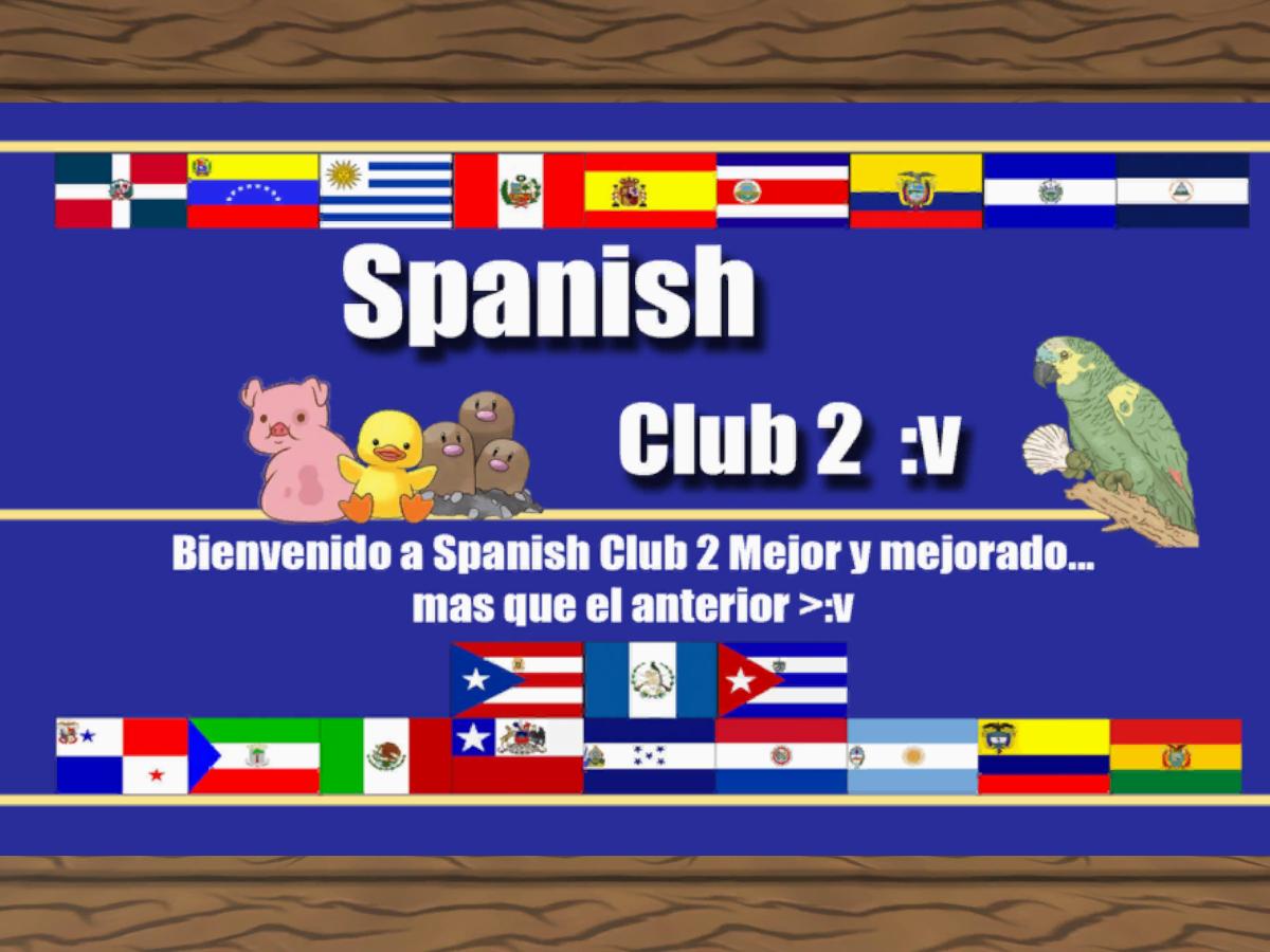 Campamento Spanish 2 - Club