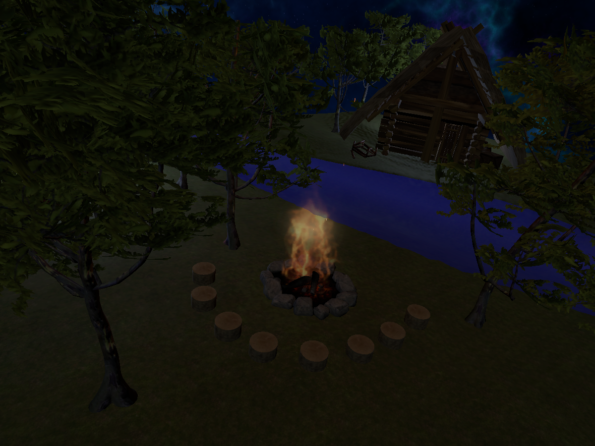 Campfire chill spot WIP