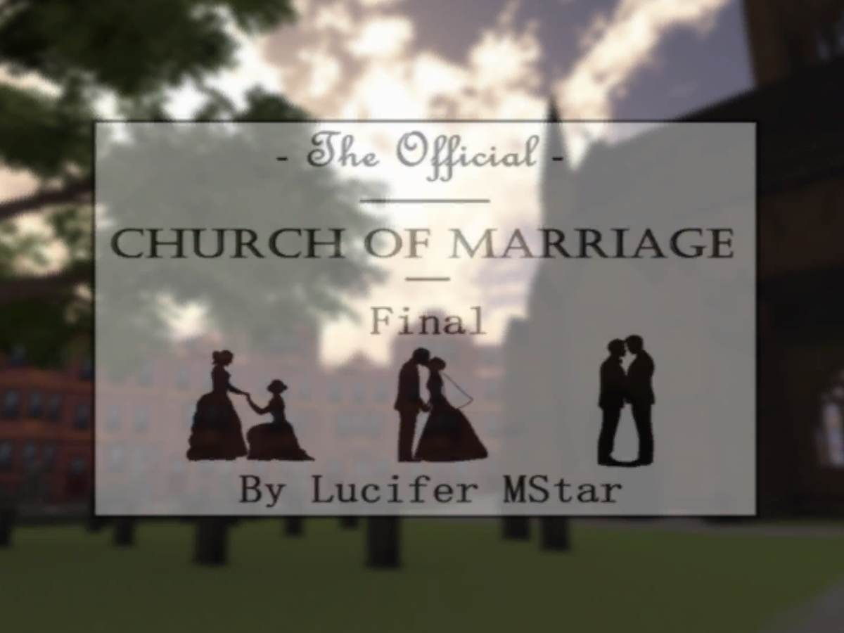 The Official Final Church Of Marriage