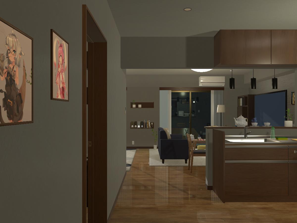Chuta Apartment(兎邸)