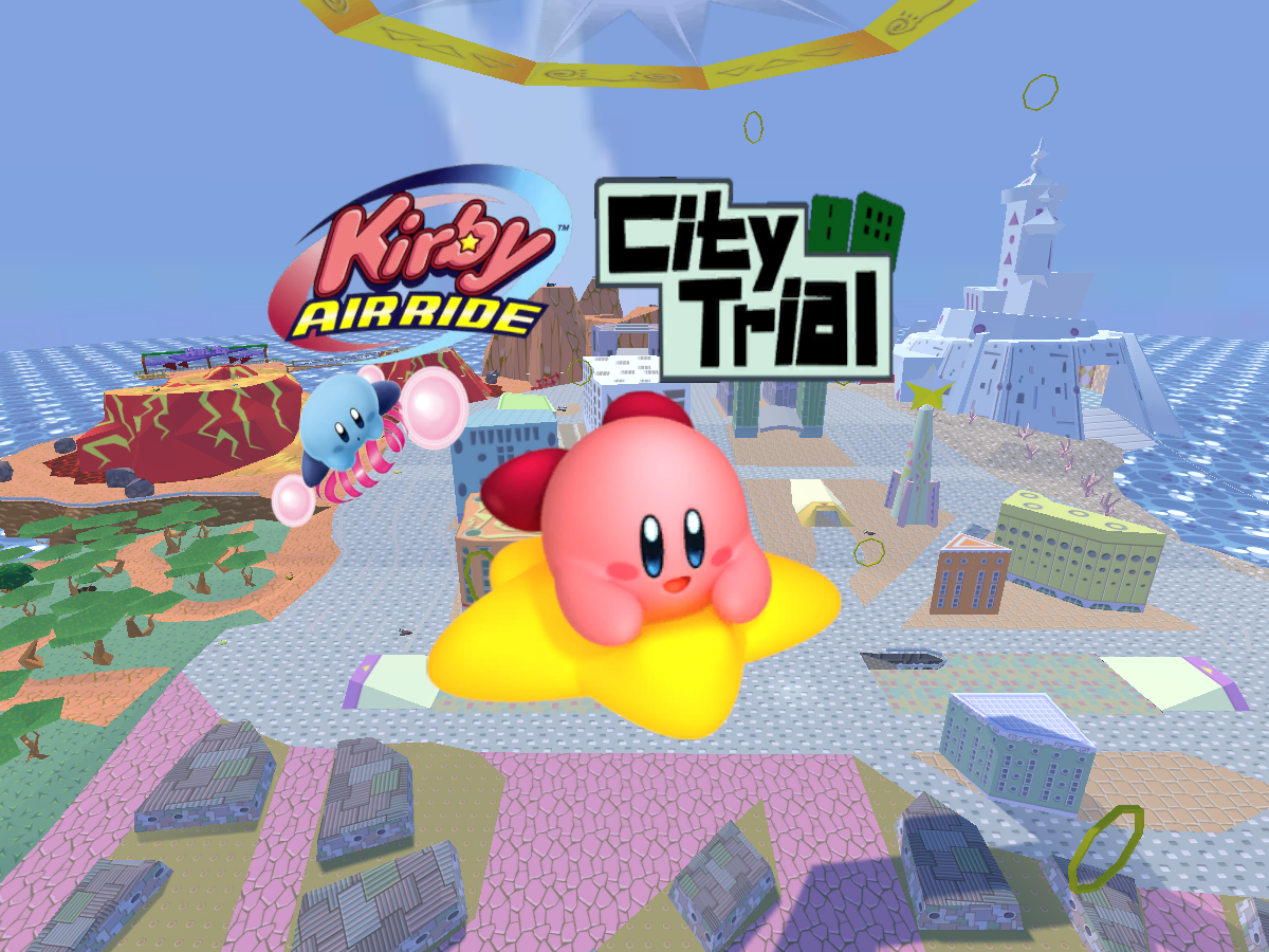 Kirby Air Ride - City Trial (Warp Star Fun)