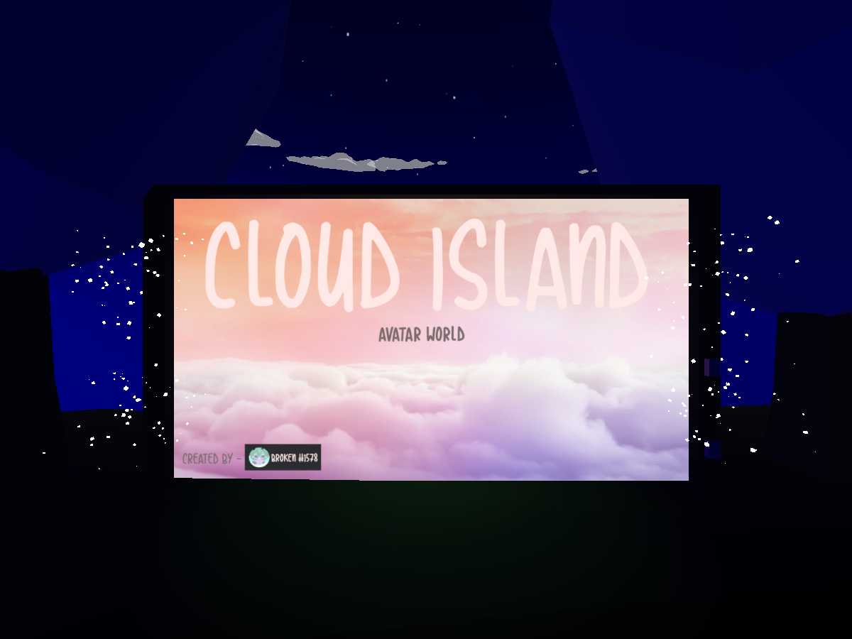 Cloud Island Night Time