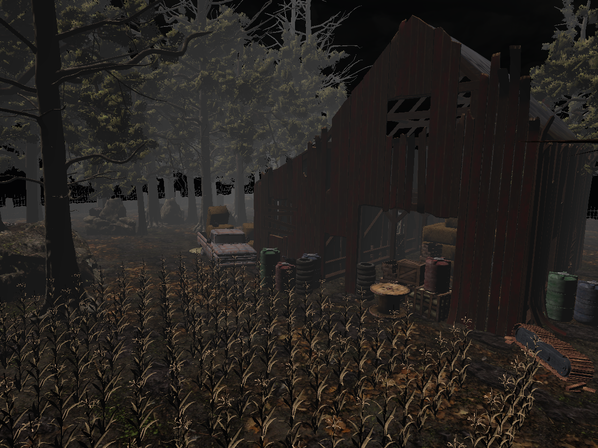 Dead By Daylight Farmhouse