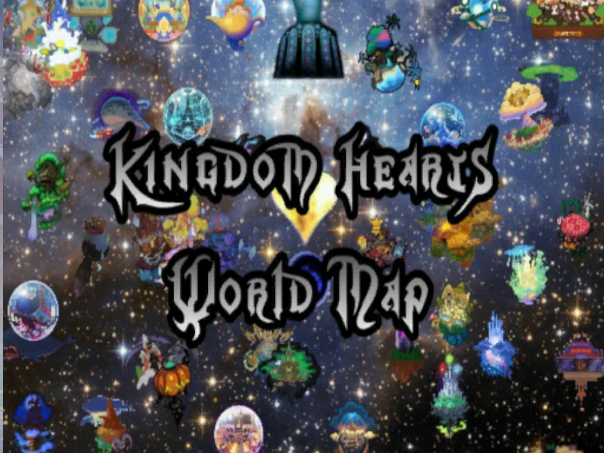 Kingdom Hearts World Map | Worlds on VRChat(Beta)