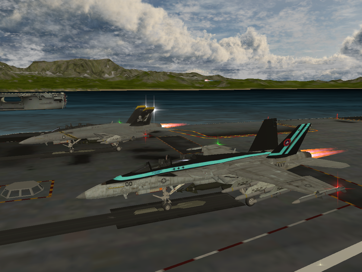 FA-18F Aircraft Carrier World v1․5