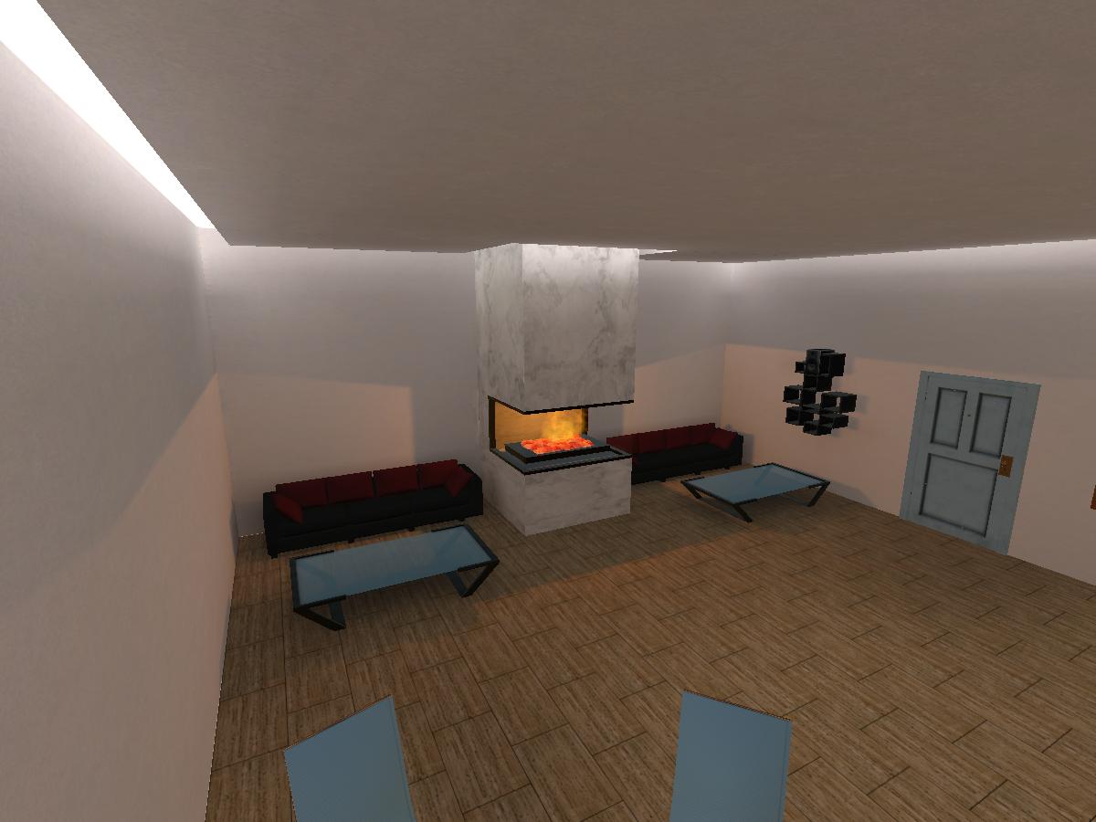 Fireplace Penthouse