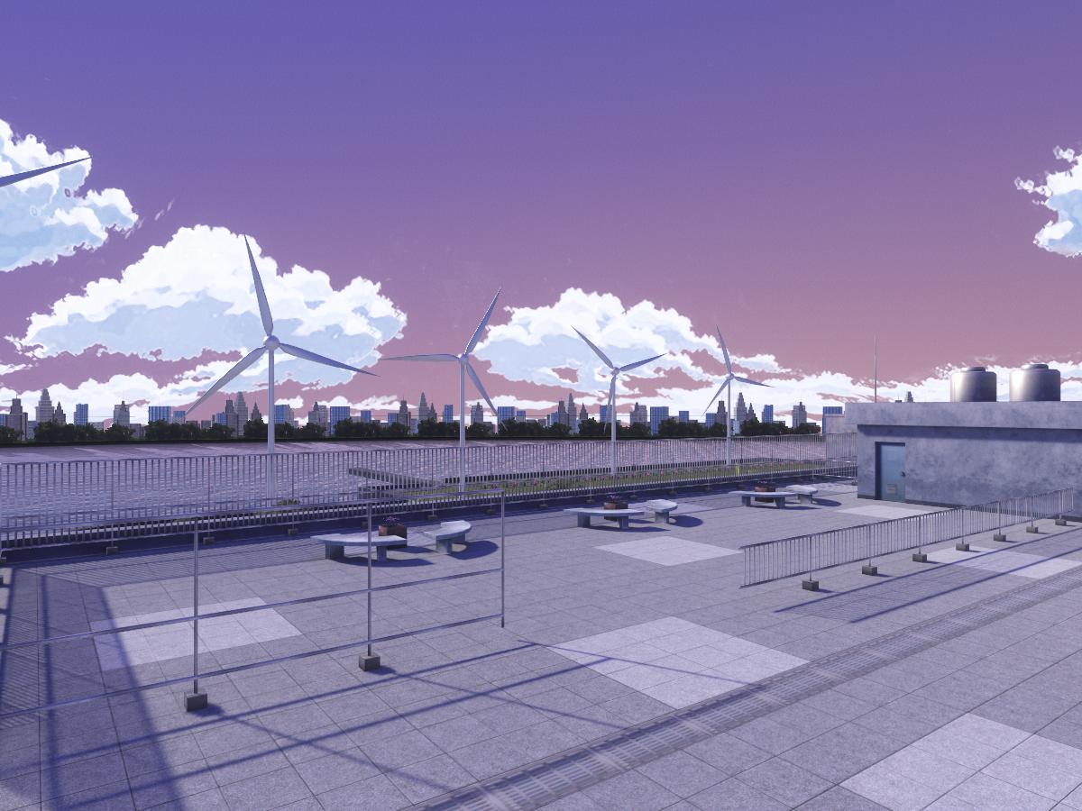 Gekkoukan H․ S․ Rooftop 〈Moon ver․〉