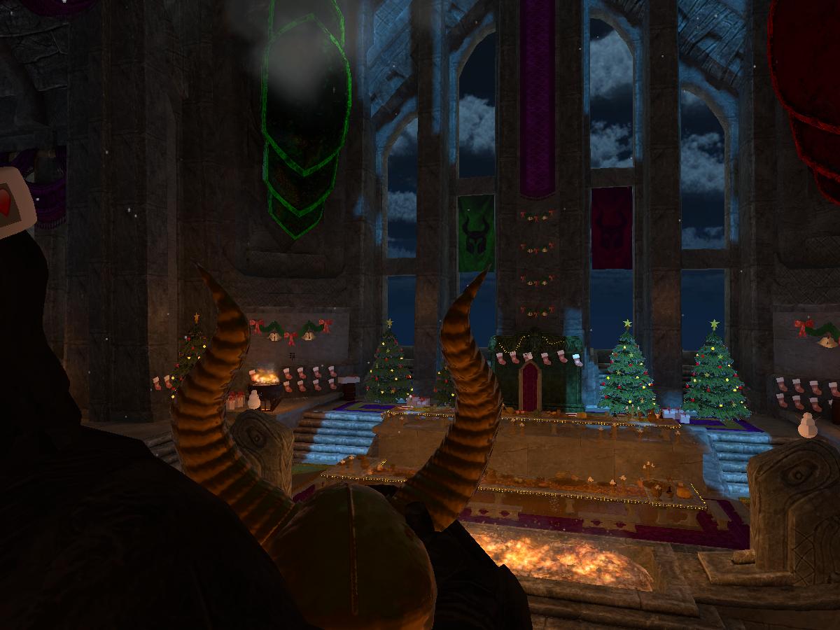 Gormundr's Christmas Great Hall
