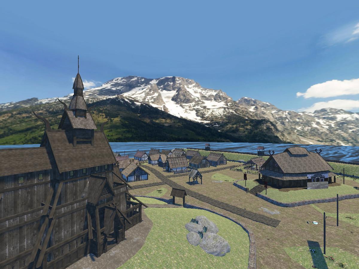 Gormundr's Viking Village
