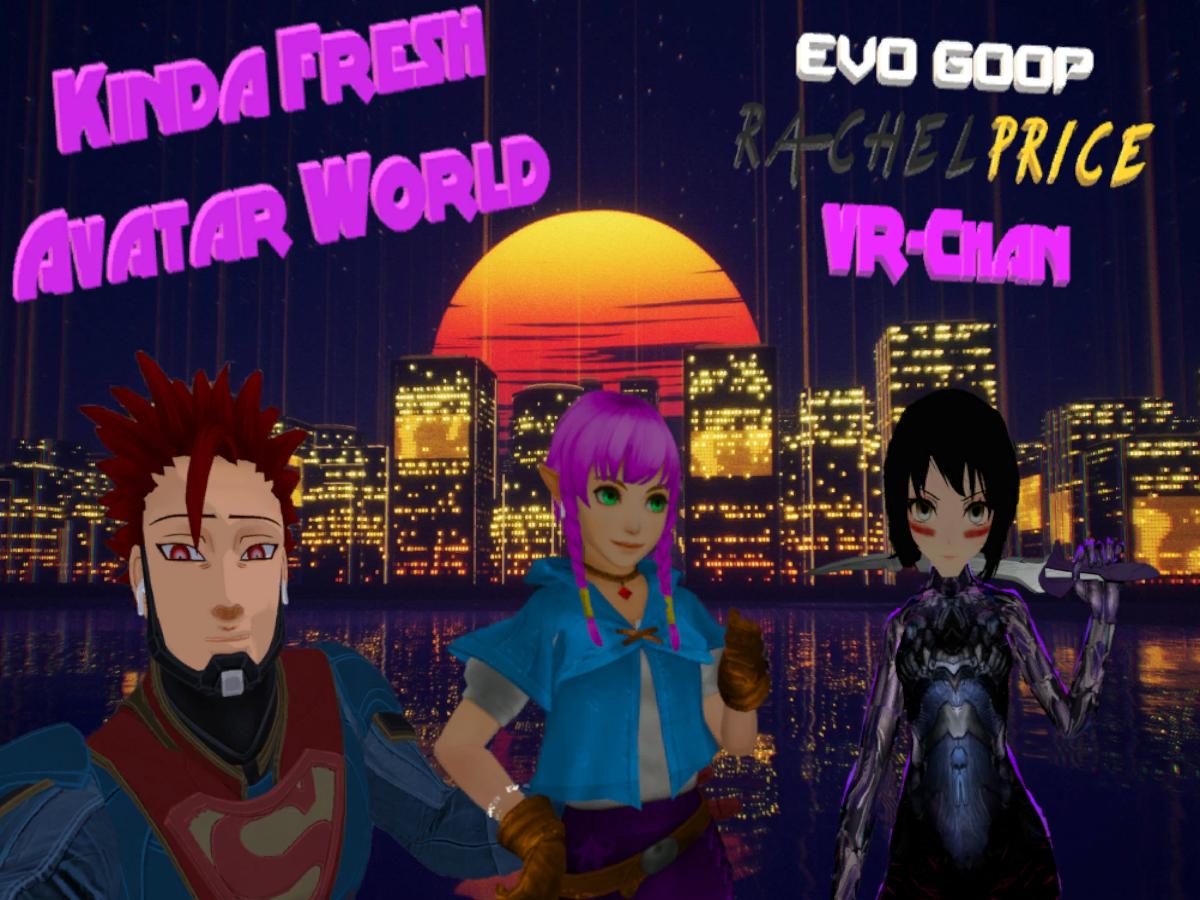 Kinda Fresh Avatar World   Worlds on VRChat(Beta)