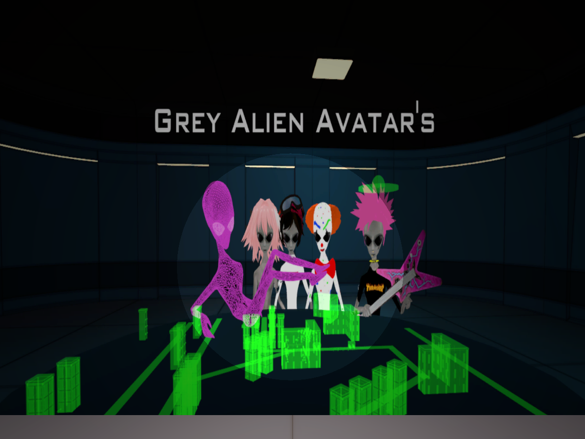 Grey Alien Avatar's