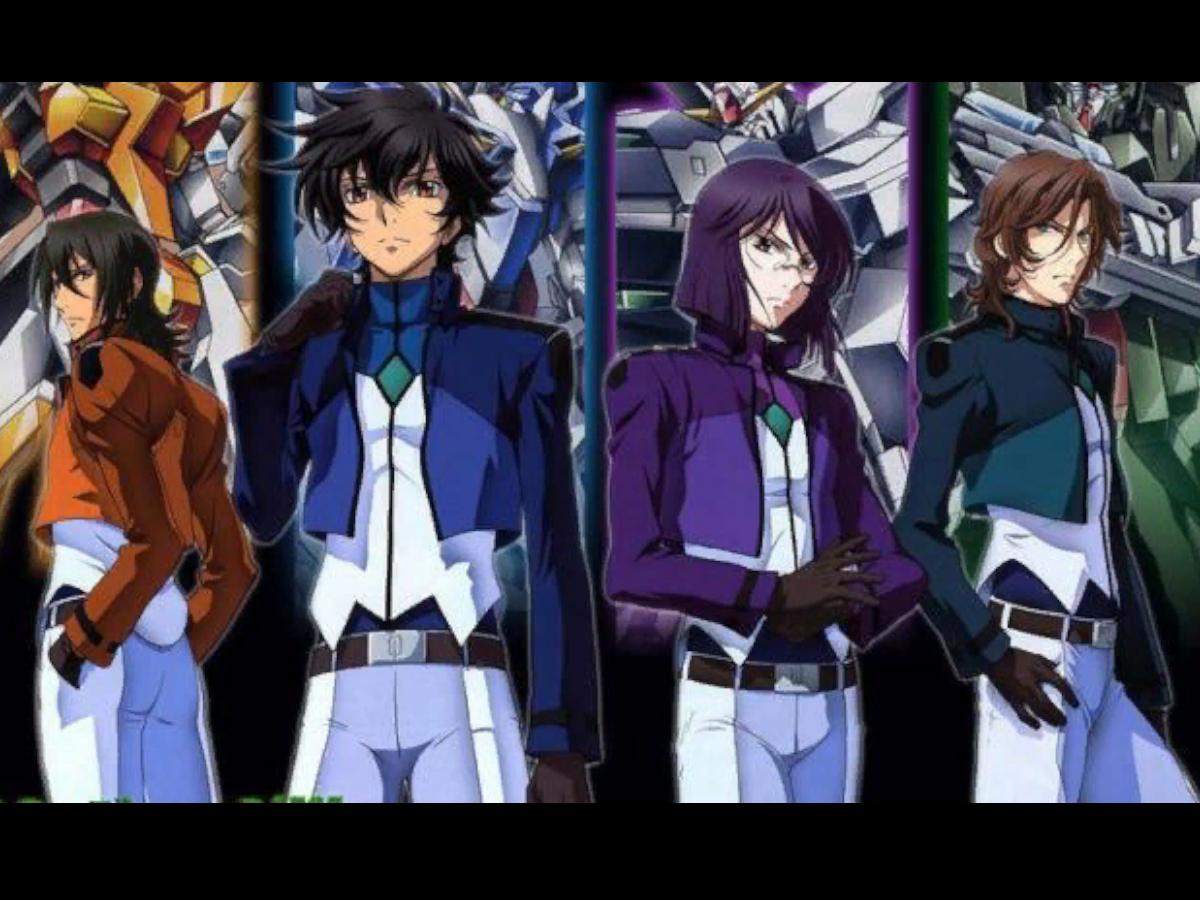 Gundam 00 world