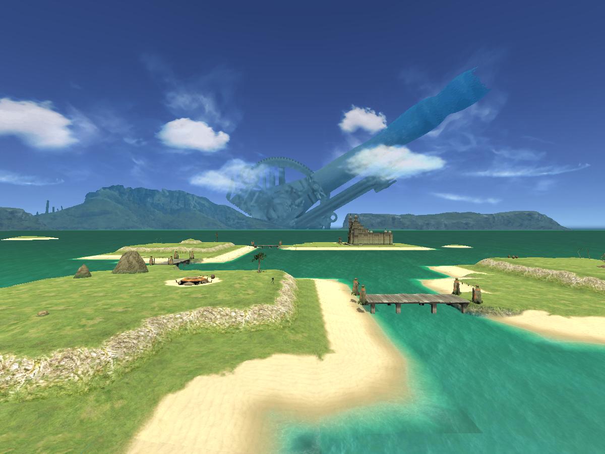 Island Field - Day
