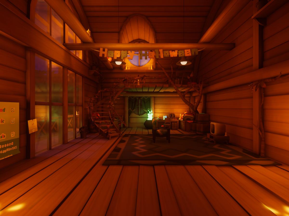 Japari Cabin Halloween