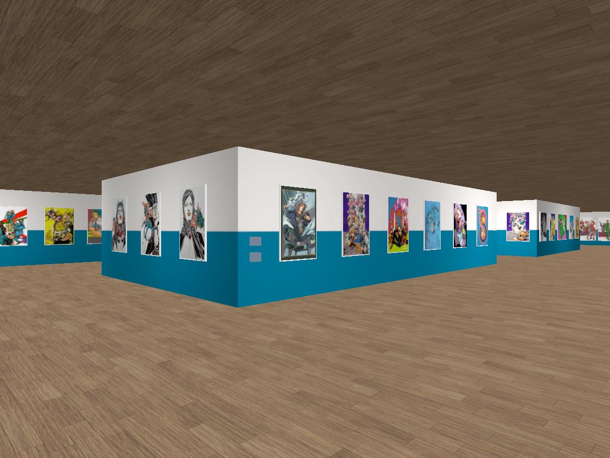 JoJo/Hirohiko Araki Art Exhibit