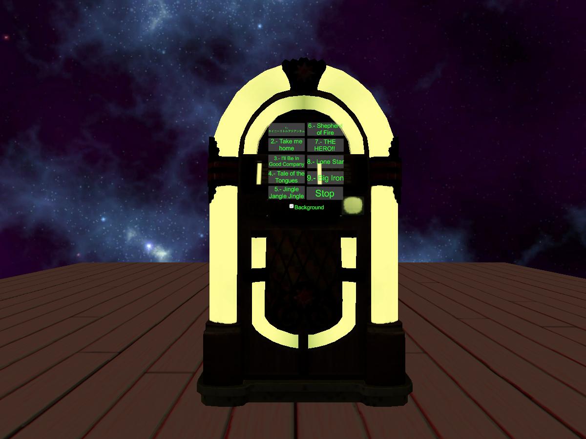 Jukebox in space