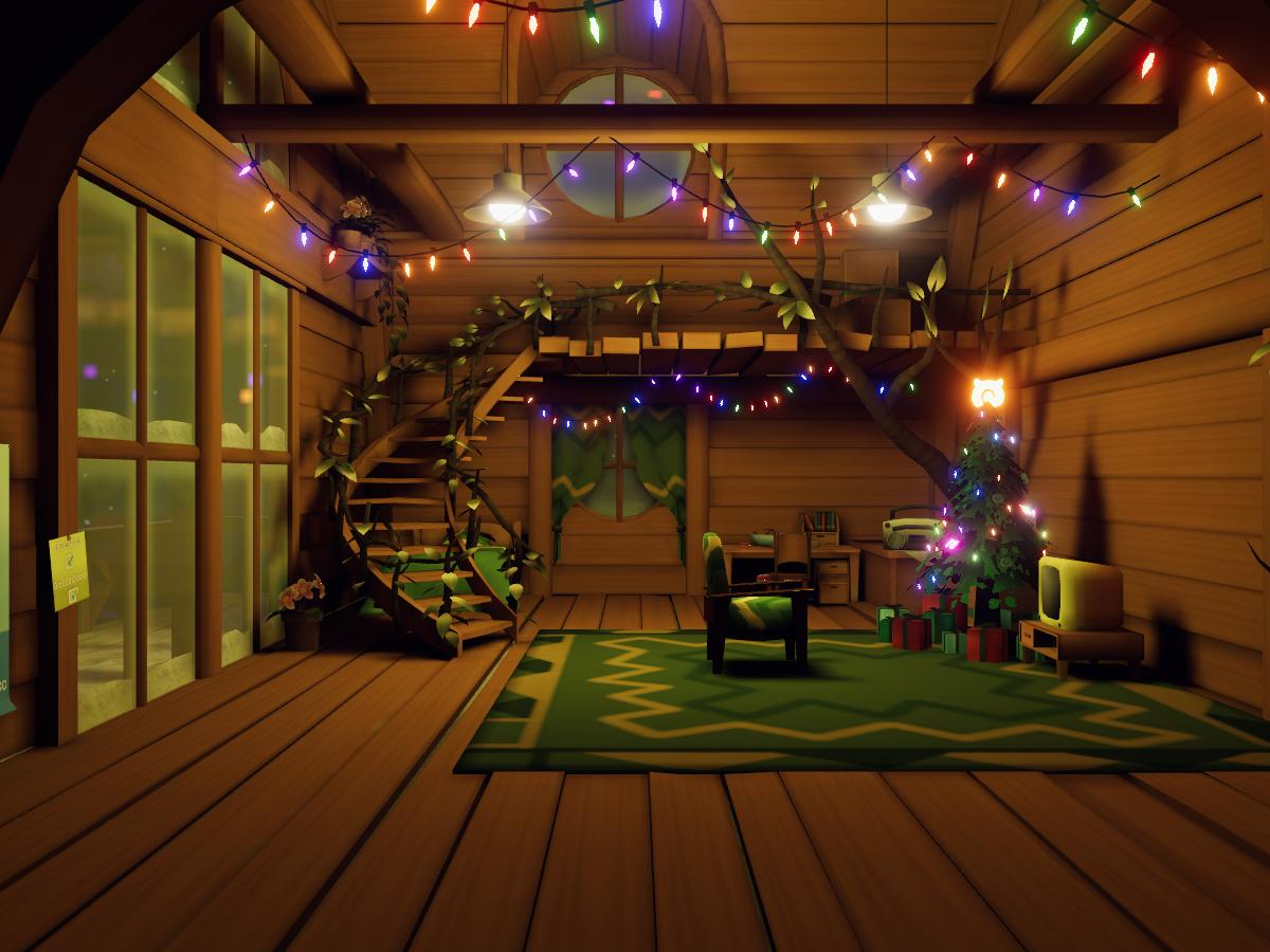 Japari Cabin Winter