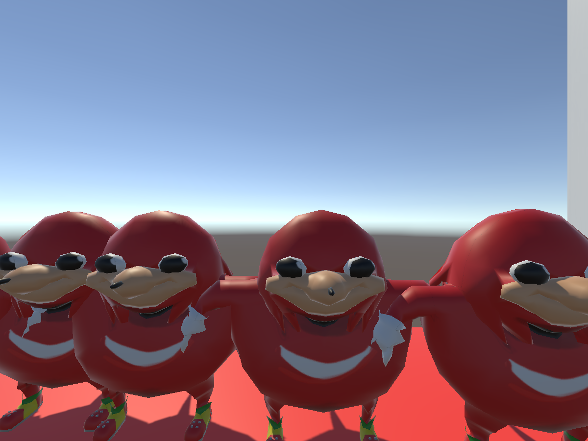 Knuckles avatar world