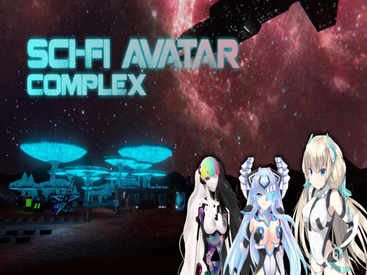 Sci-Fi Avatar Complex | Worlds on VRChat(Beta)