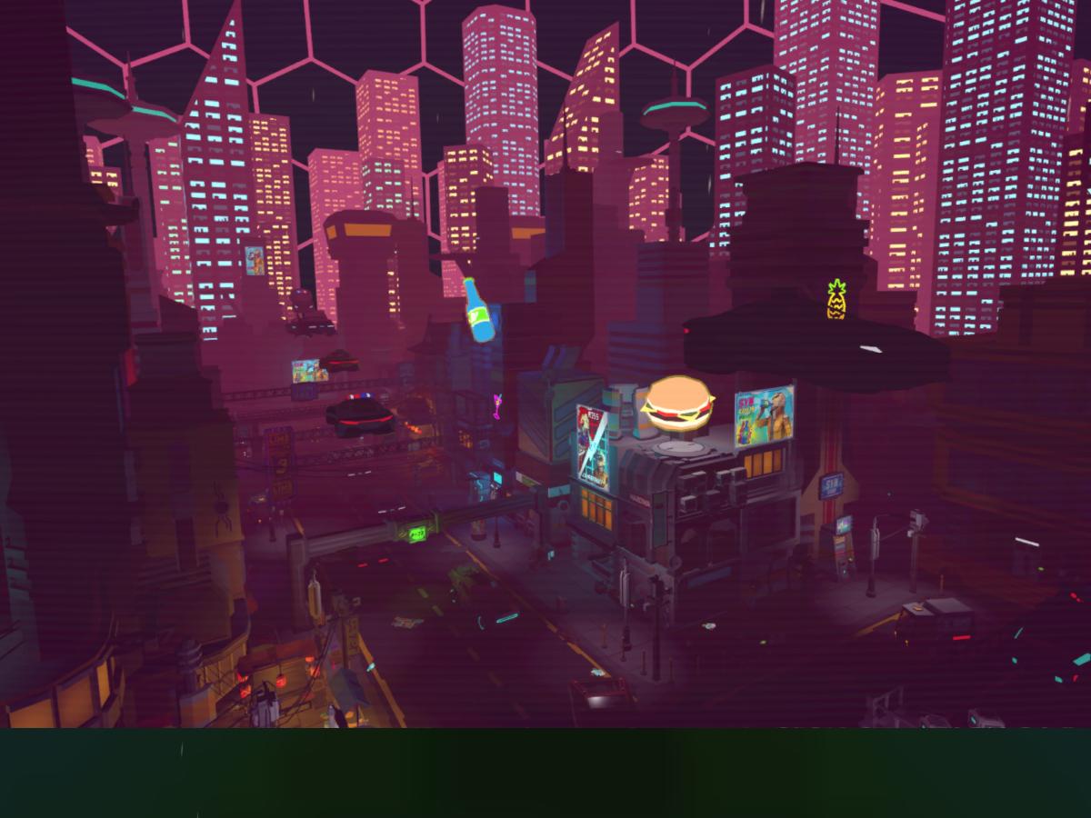 [LOWPOLY]CyberPunk_City