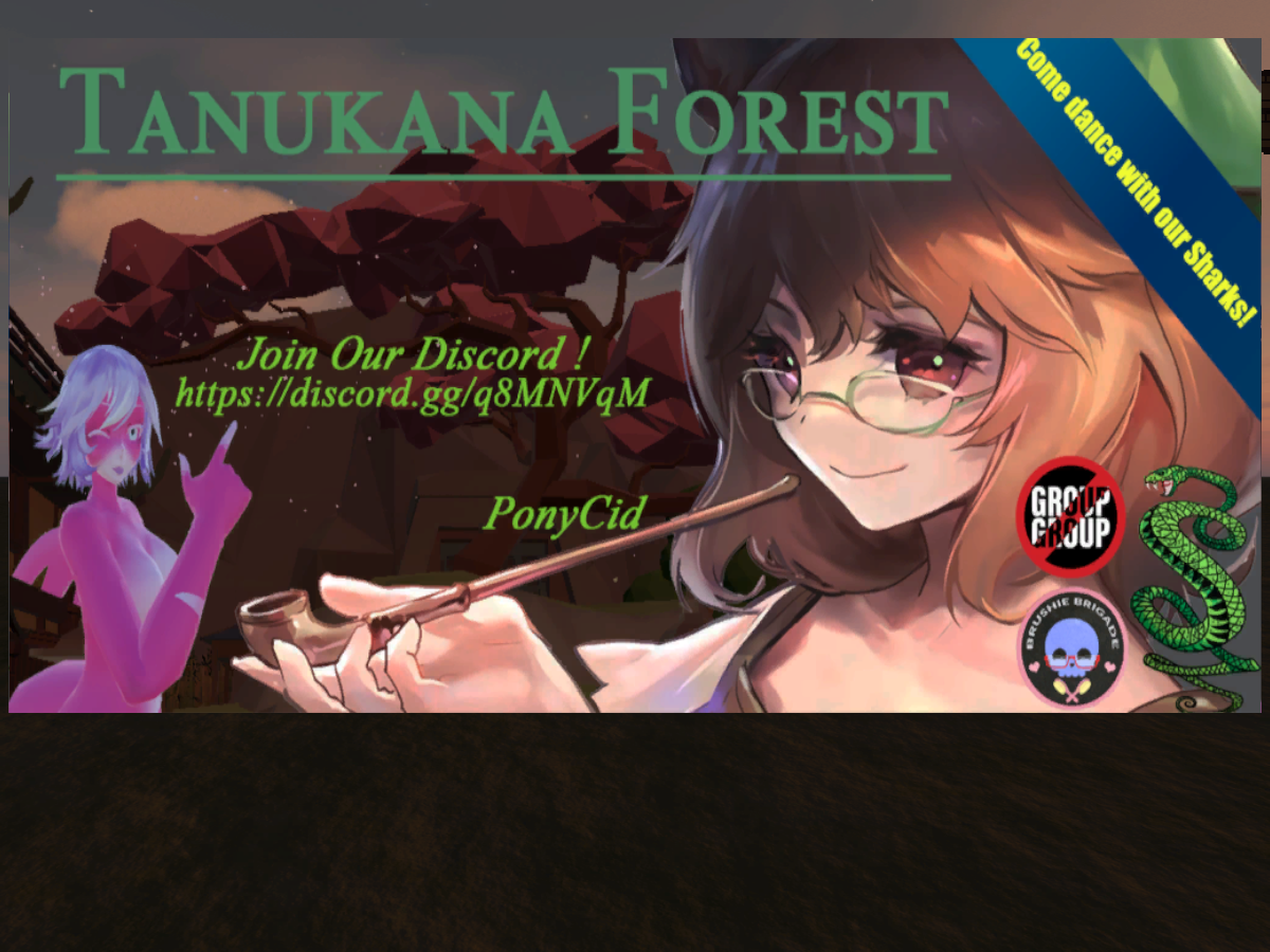 MMD Tanukana Forest