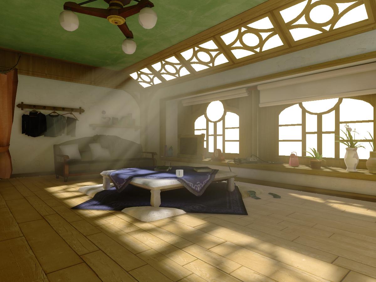 Lann and Reynn's Room - World of FF