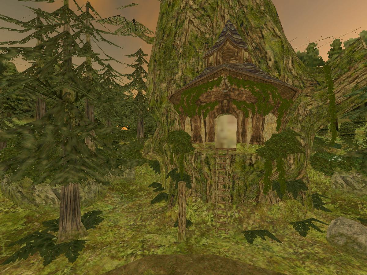Ordon Village | Zelda Twilight Princess | Madrus