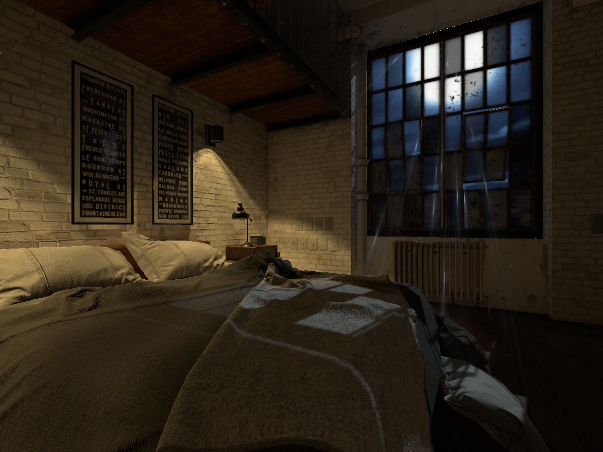 Loft Apartment - Night