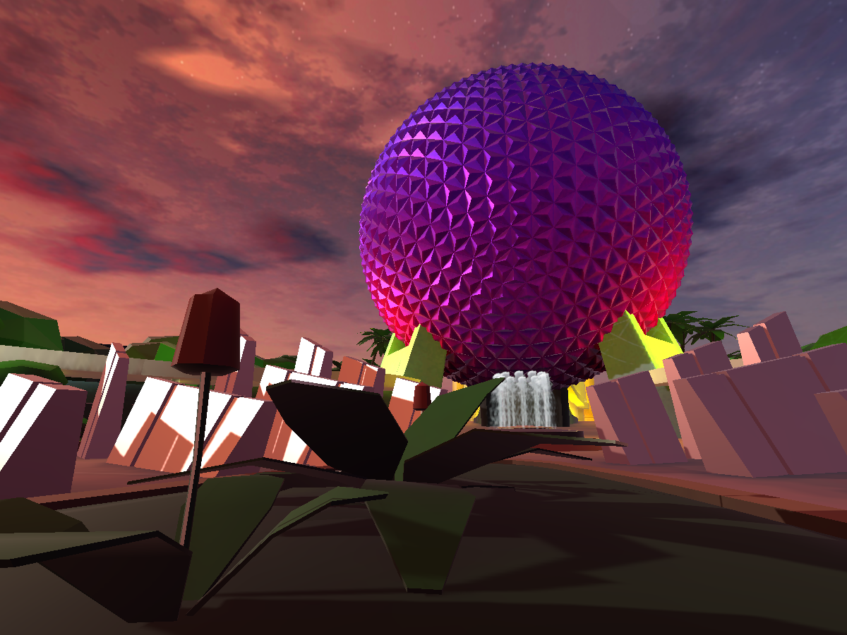 Low Poly Epcot