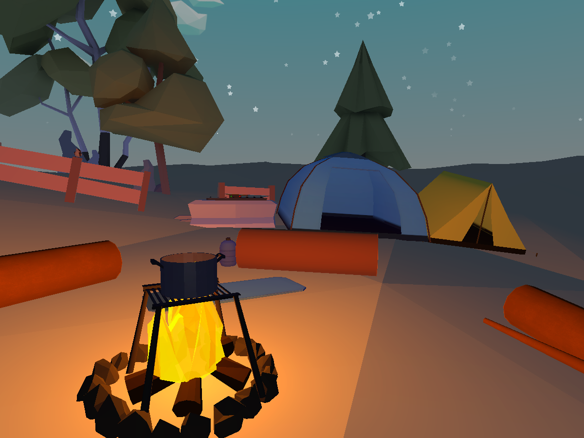 LowPoly Camp