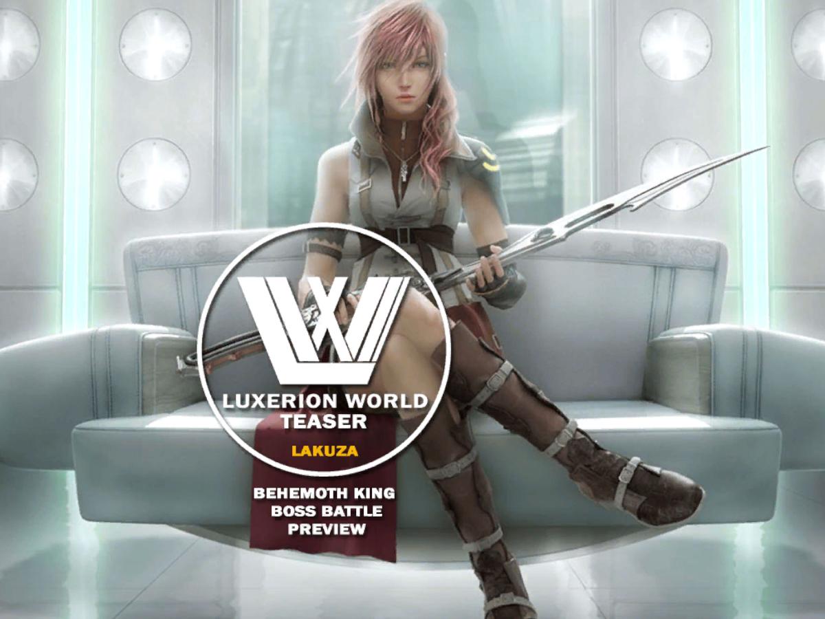 Luxerion World - Teaser (Boss Battle)
