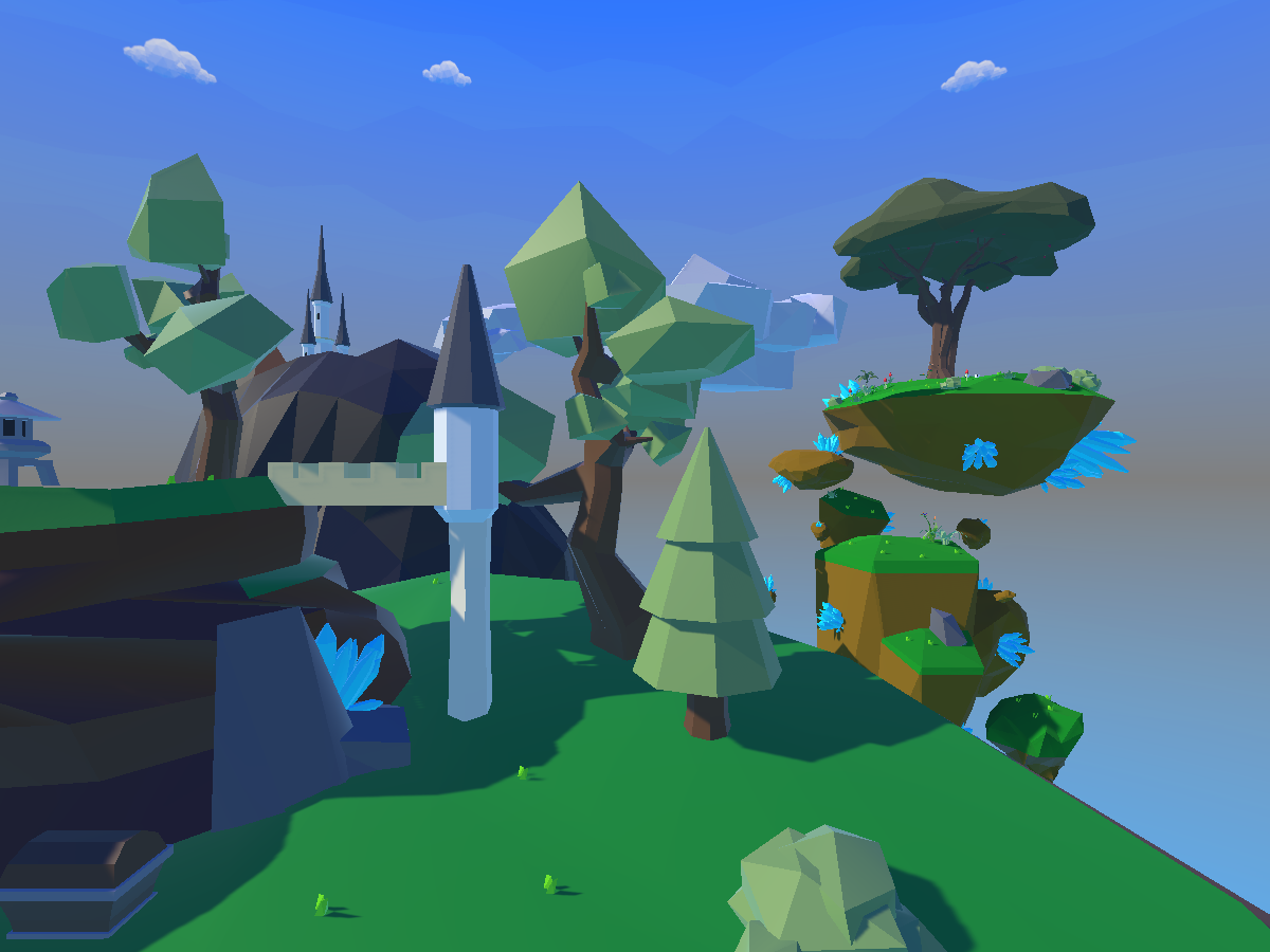Lyra's Little Low-Poly World