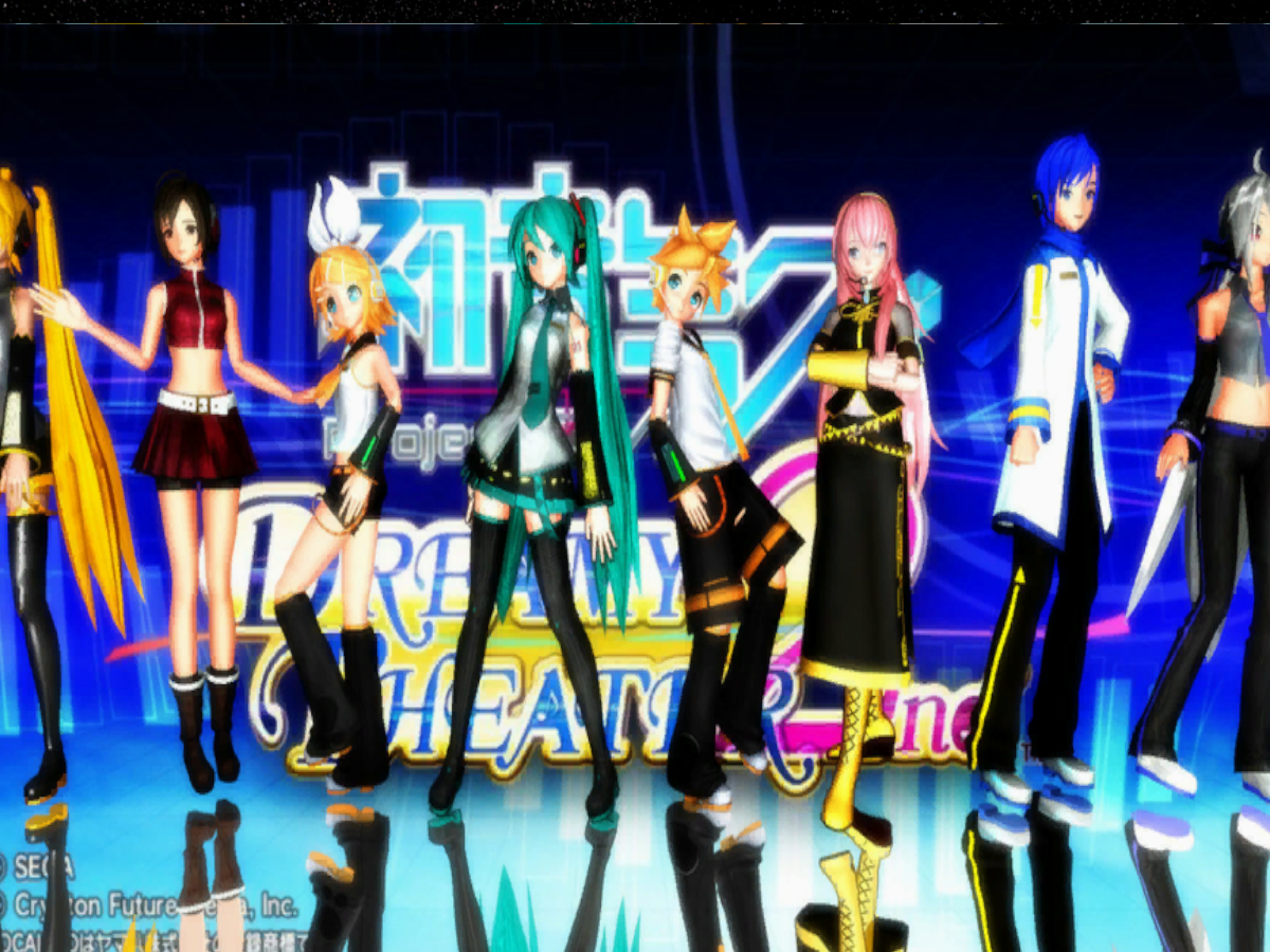 MMD Dance Stage
