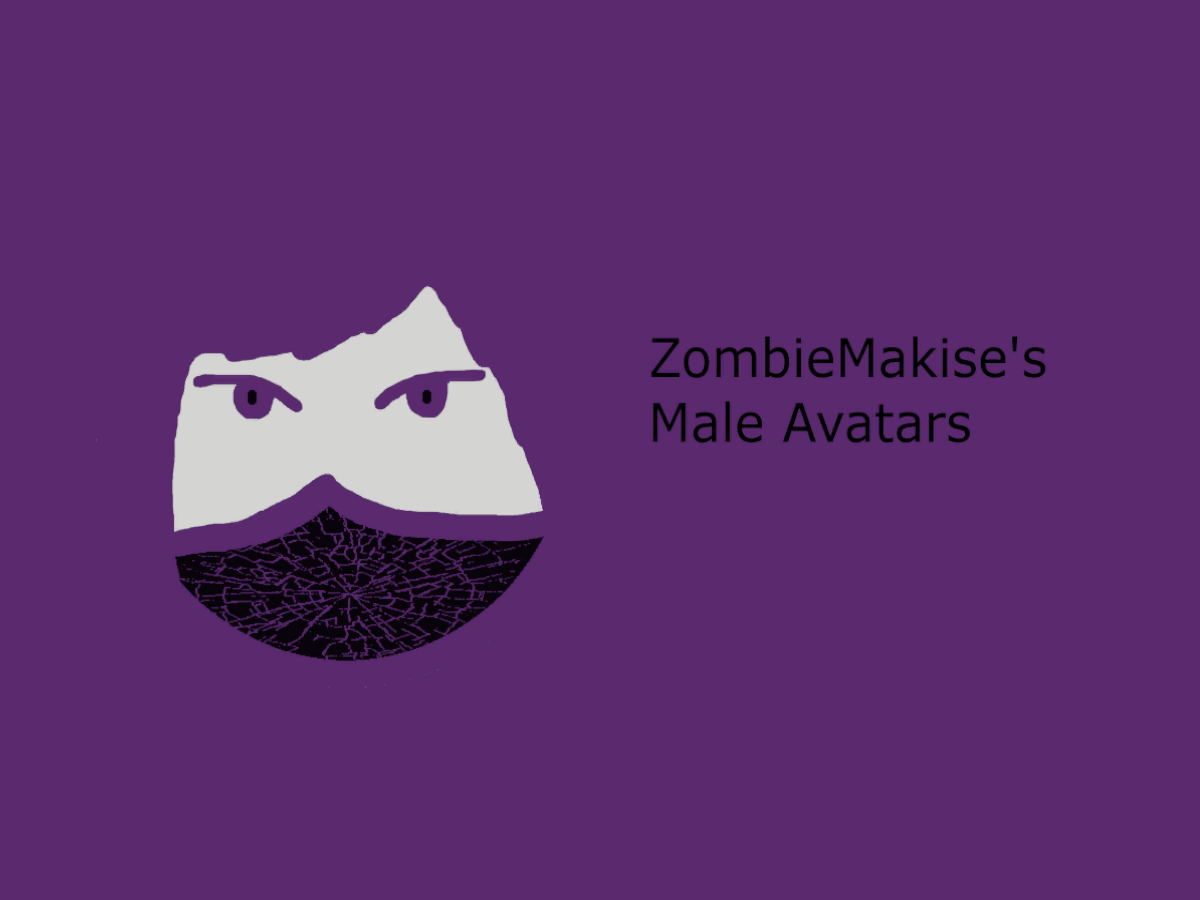 ZombieMakise's Male Avatars