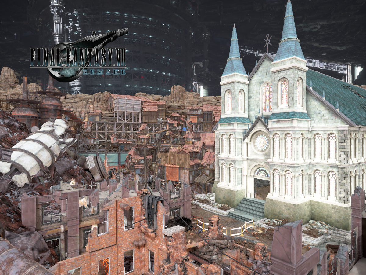 Aerith's Church - Final Fantasy VII Remake
