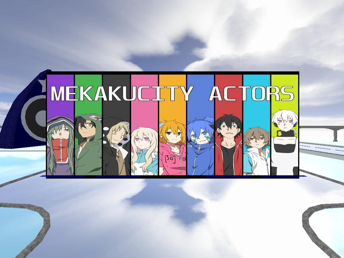 Mekakucity Actors Avatars
