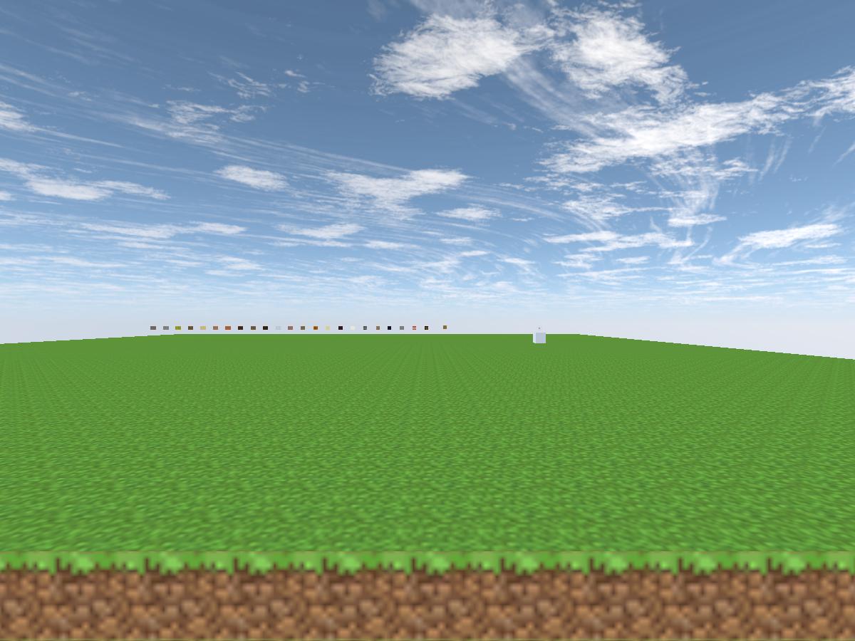 Minecraft build world