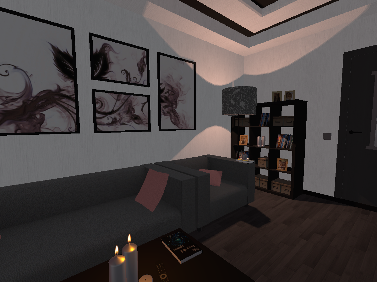 Modern room + Avatars